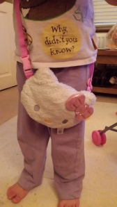 Hello Kitty kids shoulder bag