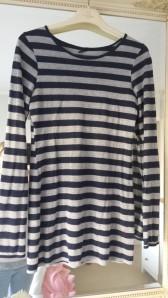 Top Shop stripy long sleeved T