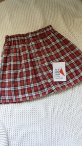 FULS tartan skirt
