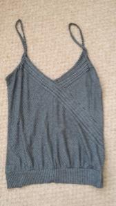 Topshop black camisole vest