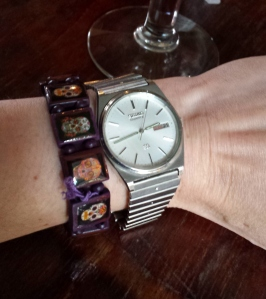 Stainless steel Seiko watch