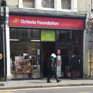 Octavia Foundation shop, Fulham Road, Chelsea