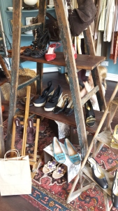 Shoes in Mary's Living and Giving shop, Parsons Green
