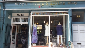 Mary's Living and Giving shop, Parson's Green