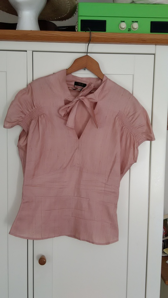 Daks blouse, £9.99 from Oxfam Herne Hill
