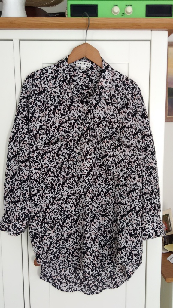 Whistles blouse, £9.99 from Oxfam Herne Hill