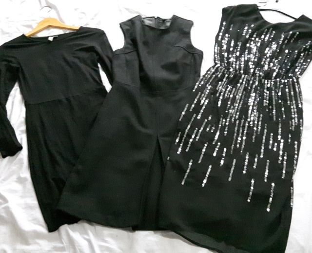 My black dresses
