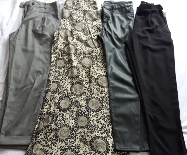 Trousers to keep